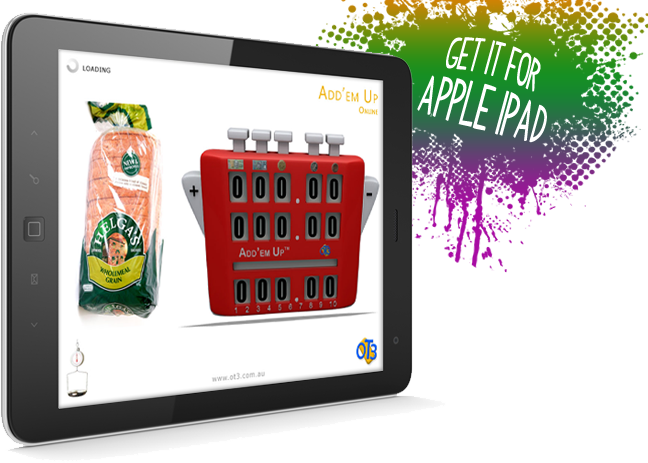 Get the Add'em Up for Apple iPad.